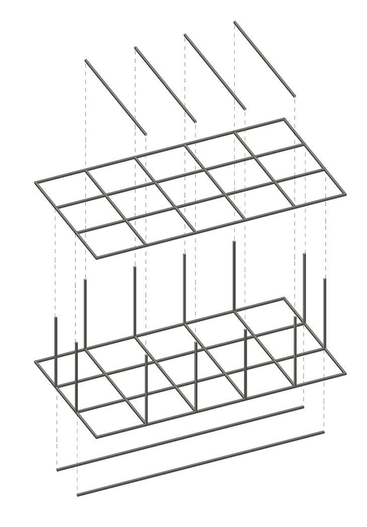 Axo Estructura