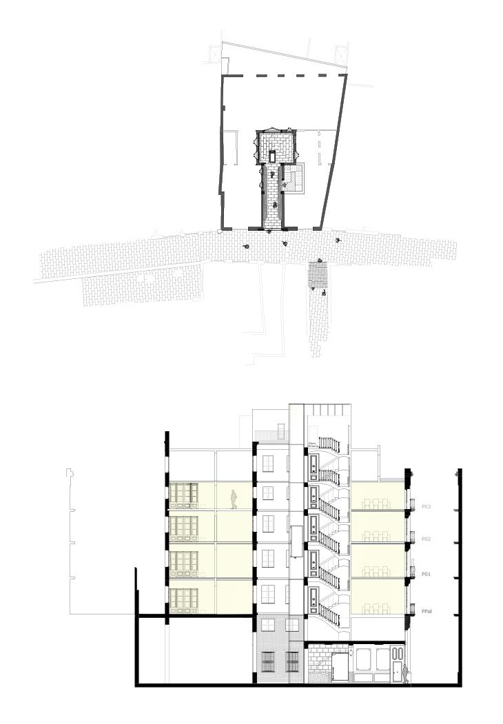 Secció ascensor